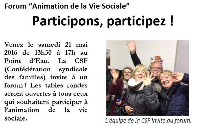 CSF -Info / Mai
