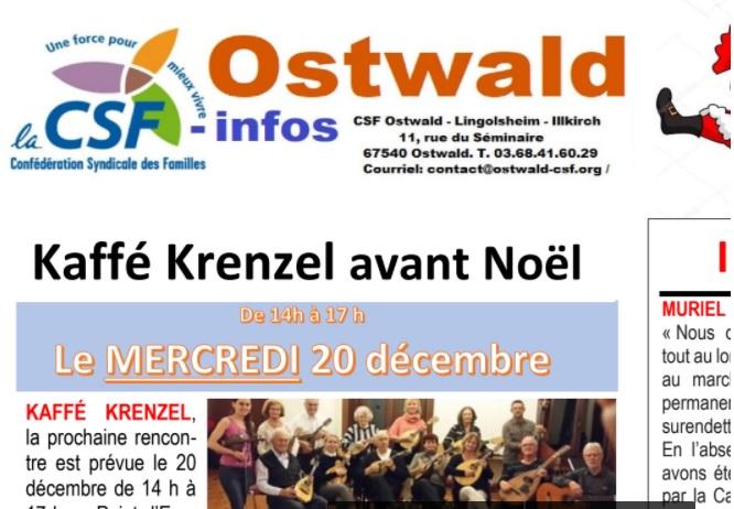 CSF-infos en décembre